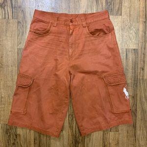 Polo Ralph Lauren Vintage Rust Orange Shorts